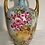 Thumbnail: JP Limoges Roses Hand Painted Muscle Vase Signed