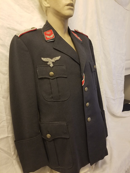 WWII German Luftwaffe officer tunic/knee boot trousers with lace