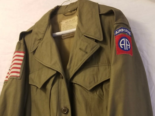 WWII 82nd Airborne filed jack M-1943
