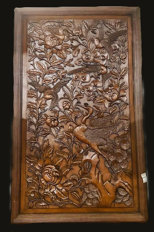 Wood Carved Decor
