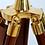Thumbnail: Nautical brass master telescope