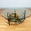 Thumbnail: Midcentury Brutalist Coffee table with glass top
