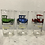 Thumbnail: Set of 6 Hazelatlas Auto Glasses with carrier
