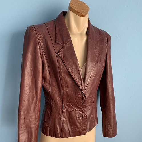 Re: 80's Berman's Red Leather Jacket
