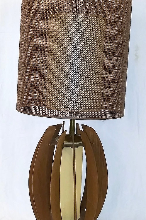 Wood lamp from 1960