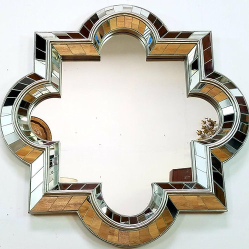 Mid-century Geometric Mirror