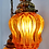 Thumbnail: Mid century Hollywood Glam hanging lamp