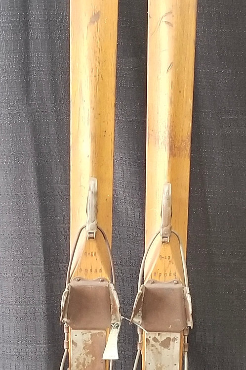 1940's Groswold Downhill Skis