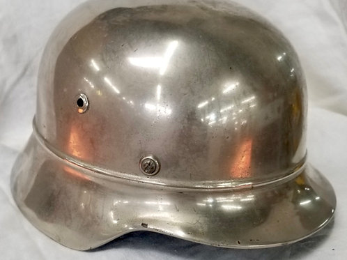 WWII German Chrome Parade Helmet