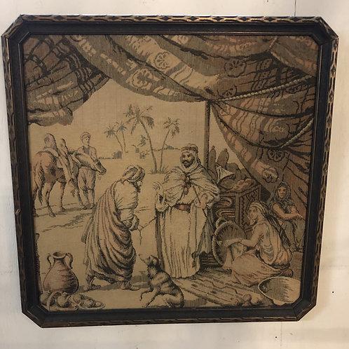 Framed Tapestry Victorian