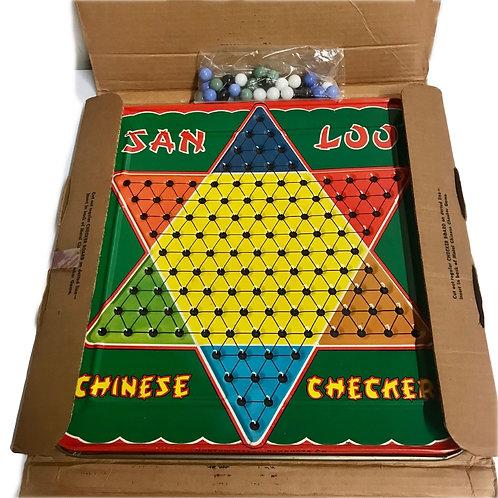 Vintage San Loo Checkers game