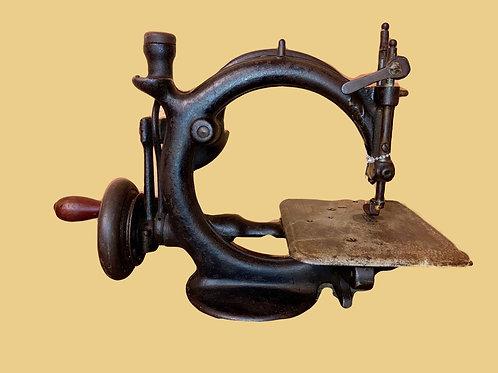 1800'S Wilcox & Gibbs Hand Crank Sewing Machine