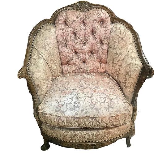 Pink Sofa + Chair 2 piece Set