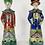 Thumbnail: Chinese porcelain statues Pair