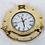 Thumbnail: Nautical brass porthole clock