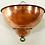 Thumbnail: Art deco retro Copper wall light sconce