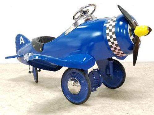 Retro Navy pedal airplane