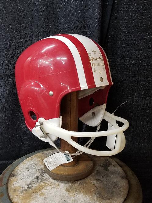 "Vintage Spalding ""Jackie Lee"" football helmet"