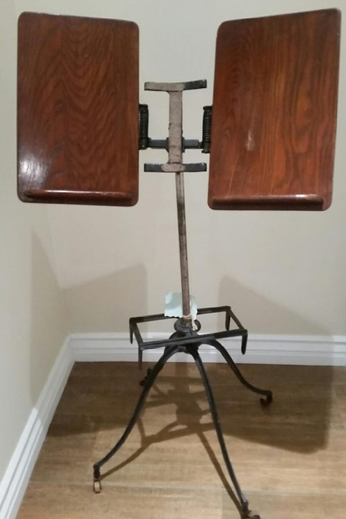 Antique Victorian Cast iron Music/book stand