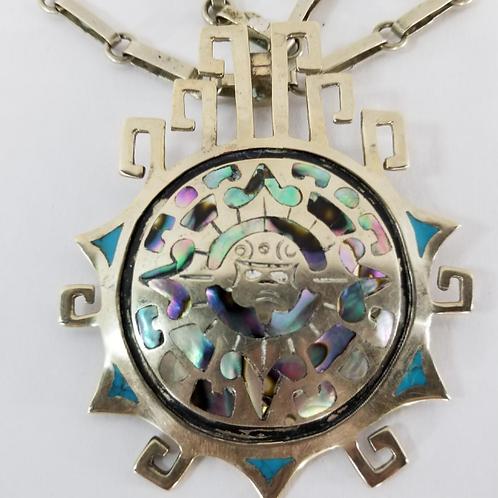 Sterling Vintage Mexico Stamped Bracelet