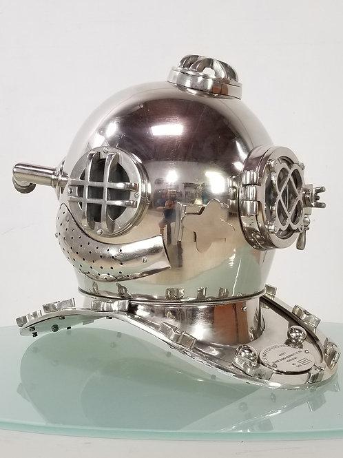 Navy life size diver helmet