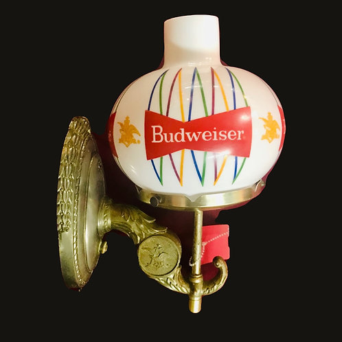 Mid Century Budweiser Lamp
