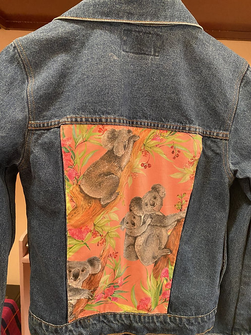 DENIM JACKET KOALA BEARS