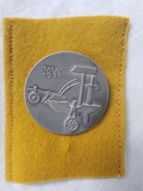 1937 battle over badge