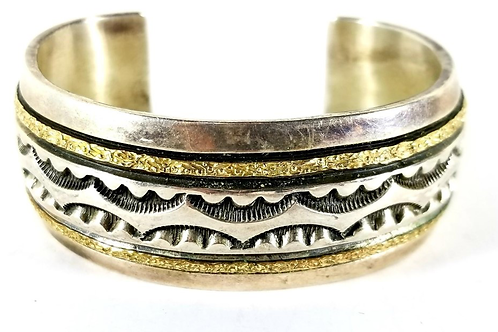 Bracelet by Marc Antia Gold and Silver