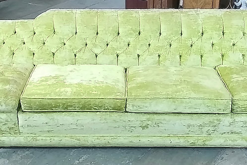 1956 Green sofa set with two chairs