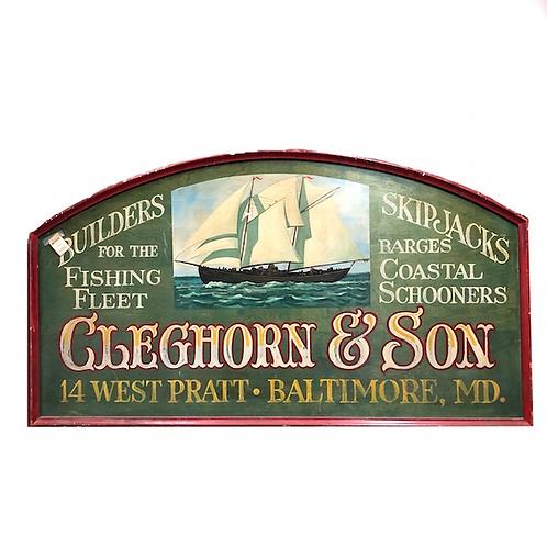 Cleghorn Sign
