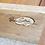 Thumbnail: Mid Century John Keal for Brown Saltman Bar Server Credenza Cabinet on Brass cas
