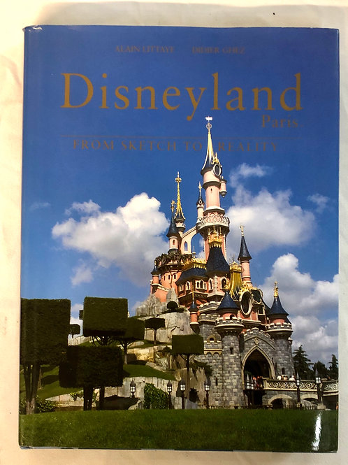 Disneyland Paris Book/Prints