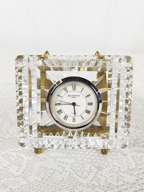 Crystal Waterford clock.