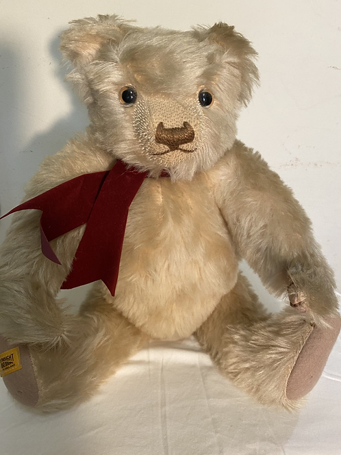 Teddy Bear Made in England Signed