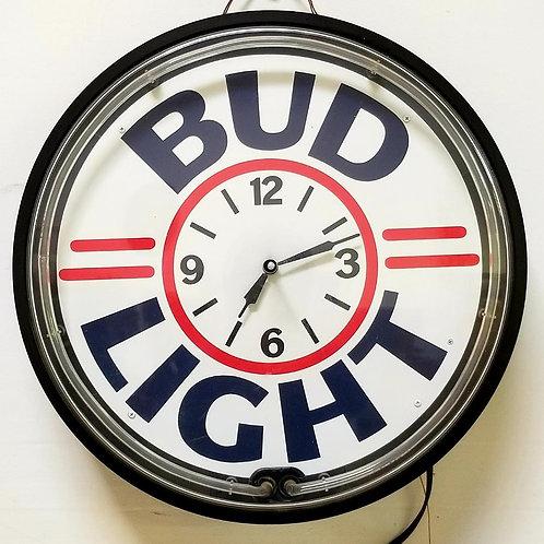 Vintage Neon Bud Light Retro Sign