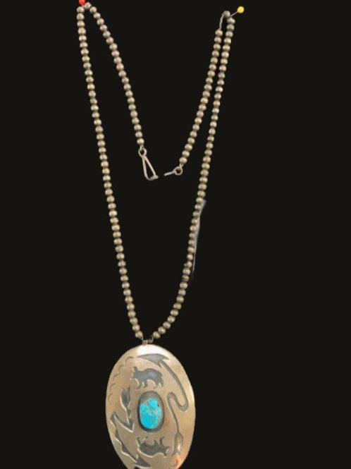 Necklace w/ Turquoise