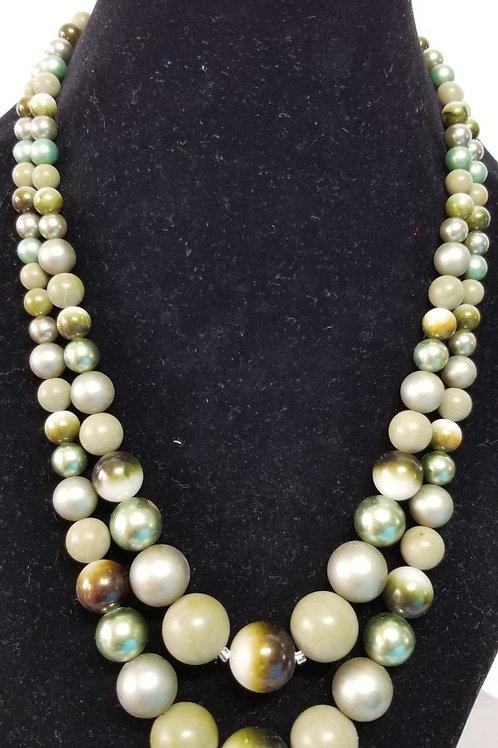 Vintage rhinestone Jewelry Necklace