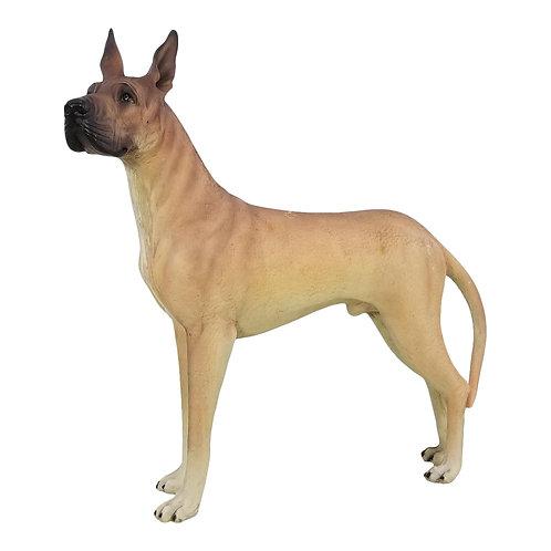Great Dane Life Size Dog Statue