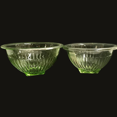 Anchor Hocking Green Mixing Bowl Set