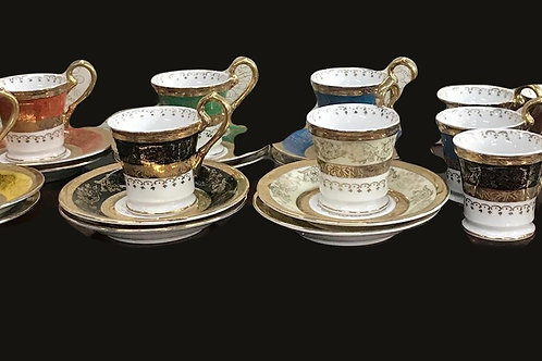 Amart 5th Ave. Demitasse Set