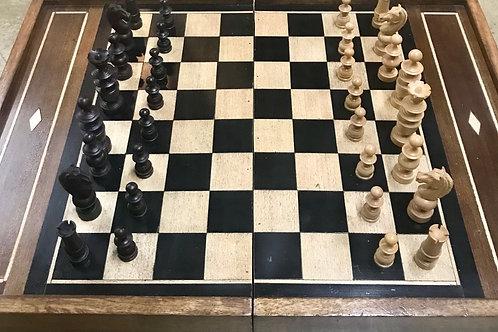 Folding Chess and backgammon board