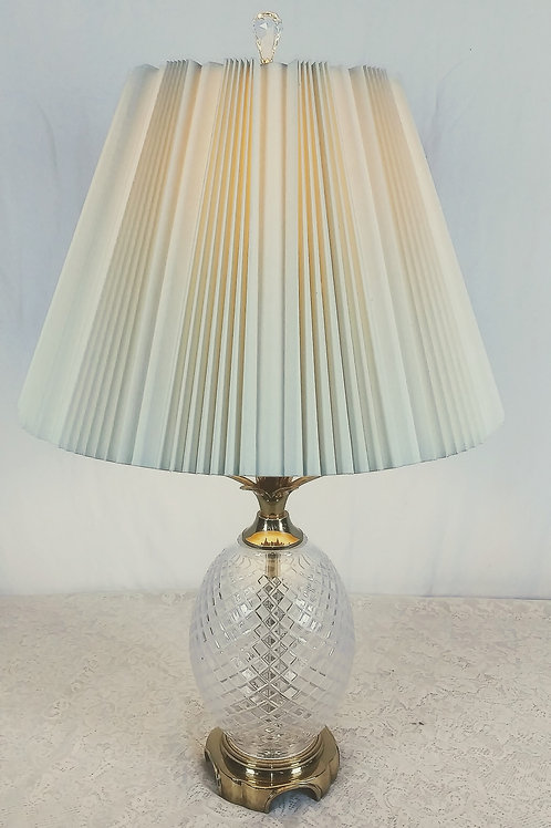 Waterfor Crystal Pineapple Table Lamp