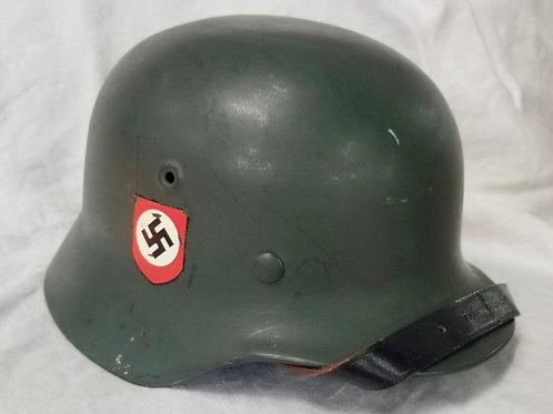 German Q64 Police Helmet