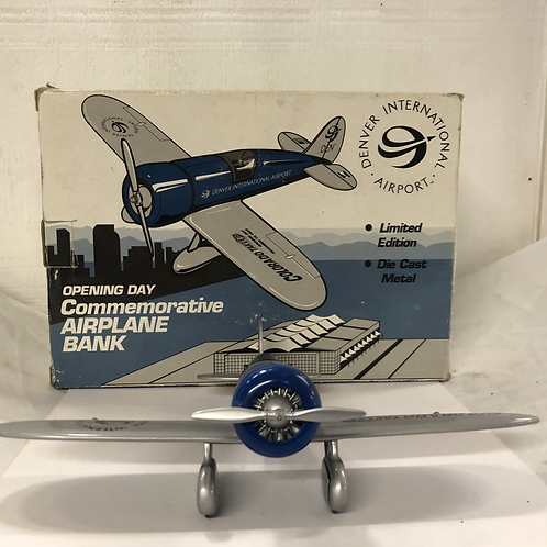 Denver Int. Airplane Bank