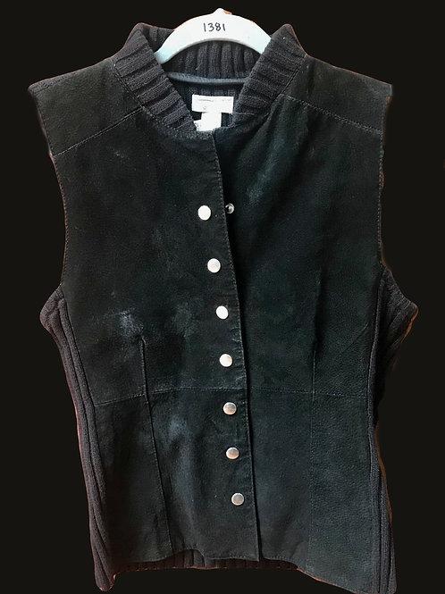 Christopher & Banks Black Vest