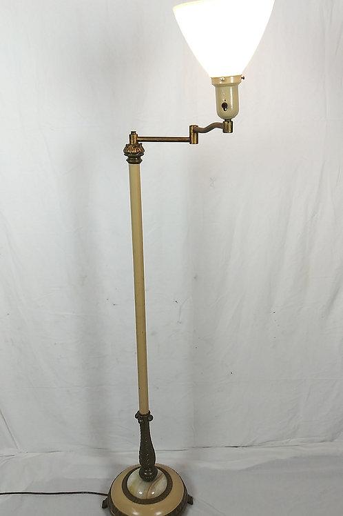 Vintage Onyx Floor Lamp