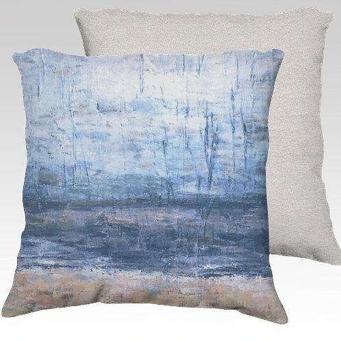 Cool Beach Velvet Pillow