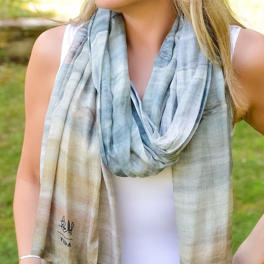 """Cool Beach"" EMJ Scarf"