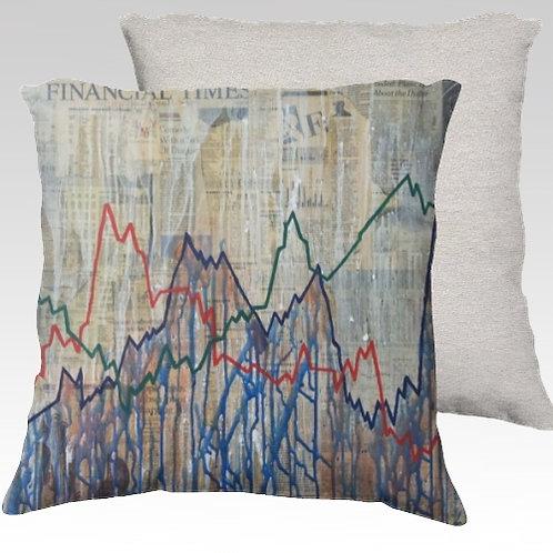 To Market to Market Velvet Pillow
